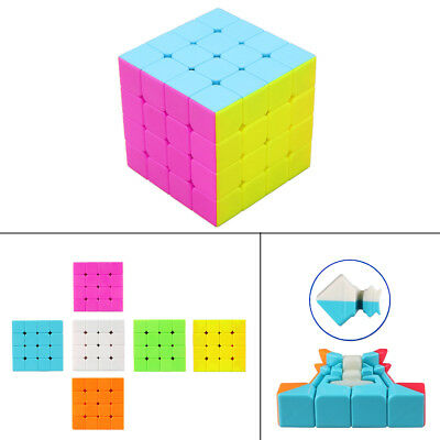 Professional Ultra-Smooth Fastest Speed Magic Cube Twist Puzzle Kids Gift 4x4x4