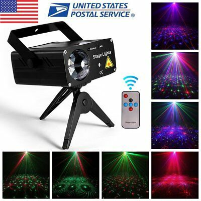 Christmas Projector Light Moving Laser LED Garden Lamp Xmas Decor Stage Lights