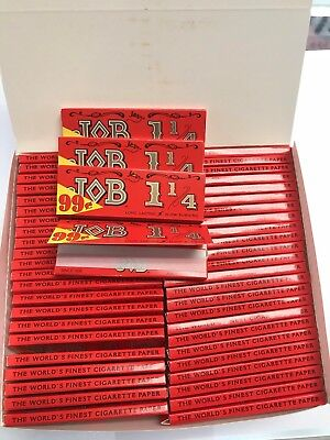 JOB Orange 100 Packs/24 per Pack Rolling Papers 1 1/4*1.25 🔥🔥Free Shipping🔥🔥