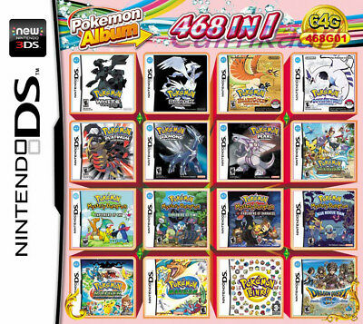 468 In 1 Video Game card Multi Cartridge For Nintendo DS NDS NDSL NDSi 3DS 2018