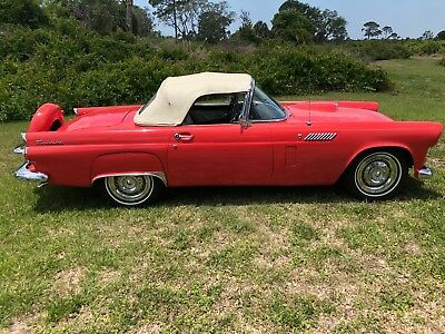 1956 Ford Thunderbird  1956 t bird I would trade for a car of equal value what do you have ?