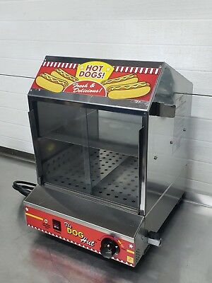 Paragon Hot Dog Hut Steamer Merchandiser For Professional Concessionaires 8020