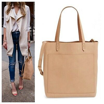 2cf1e768f MADEWELL MEDIUM LEATHER Transport Tote - Tinted Blush - NWT - FREE SHIPPING  - $95.00 | PicClick