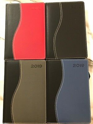 2019 Diary A5 Day to a Page Two Tone ~ FREE POSTAGE ~