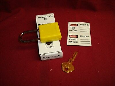 Master Lock - Lock Out Tag Out New Padlock Loto Safety Machine Plant Maintenance