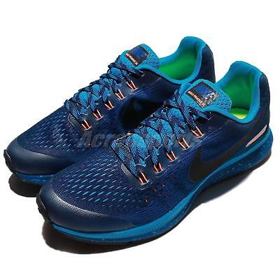 78a8c4d0b0f4 Nike Zoom Pegasus 34 Shield GS Water Repel Youth Women Running 922850-400