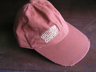 southern comfort  live loud bourbon whiskey hat cap bennie promo beer