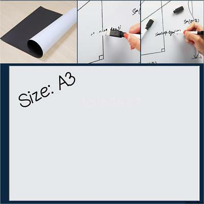 Magnetic Fridge Whiteboard Refrigerator Whiteboards Flexible Magnet Board A3/A4