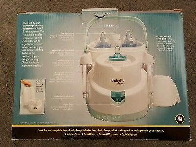 The First Years Babypro Quick Serve Bottle Warmer Colors May Vary
