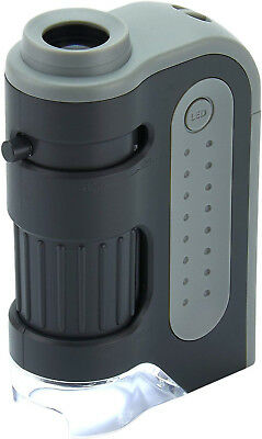 Carson Micro Brite Plus 60X-120X LED Lighted Pocket Microscope