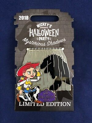 Disney Parks Halloween Party 2018 Toy Story Mysterious Shadows Jessie LE Pin Rex