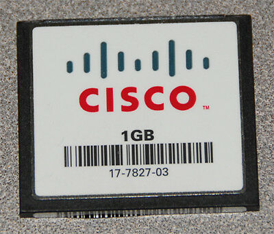 NEW Cisco AIM-CUE-1GBCF 1GB Compact Flash Cisco Unity Express Industrial grade