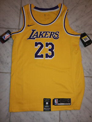 2c405cc492f Lebron James Los Angeles Lakers Nike Swingman Jersey #23 Men's Small S New  $110
