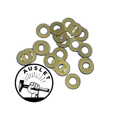 Folding Blade Knife Brass Washers - 10 Pieces