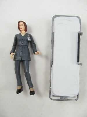 X-Files Agent Scully Character Action Figure Toy No Cadaver & Gurney 1998