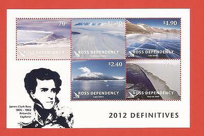 New Zealand: J.C.Ross - Ross Dependancy - Block aus 2012/postfr. - s. Bild