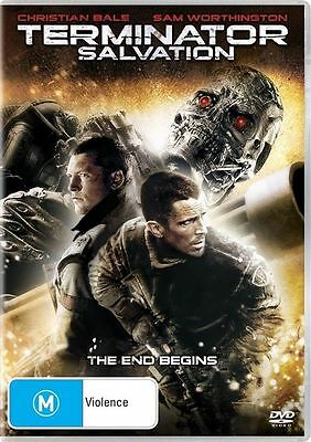 Terminator Salvation (DVD, 2009) Brand New Sealed (Region 1 US)