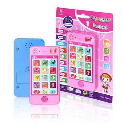 Kids Baby Simulator Music Cell Phone Touch Screen Educational Learning Toy Cool