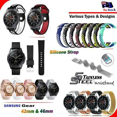 Various Luxe Band Replacement Wristband Watch Strap For Samsung Gear 42mm 46mm