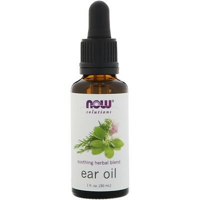 Now Solutions Ear Oil | Cleaning, Moisturising & Soothing Herbal Blend - 30 ml