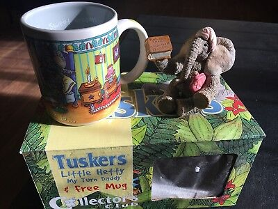 "Country Artists Tuskers' Elephant ""little Hetty - My Turn Daddy"" 90451"
