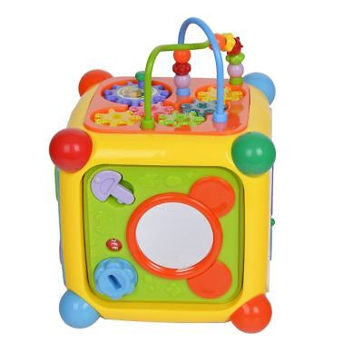Kids Activity Center Musical Electronic Toy Shape Sorter Educational Baby Gift