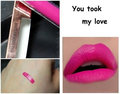 Makeup Revolution Salvation Velvet Lip Lacquer * You Took My Love * Nuovo