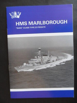 Royal Navy HMS MARLBOROUGH Welcome Aboard 1994