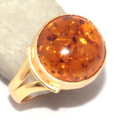 Amber Ring US 7 Jewelry V1643