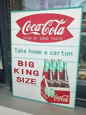 "Coca Cola Soda Drink Store Pepsi Coke Bottle Antique Poster Metal Sign 12""x9"""