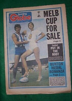 Melbourne Sporting Globe April 8, 1980  complete, VGC, 36 pages