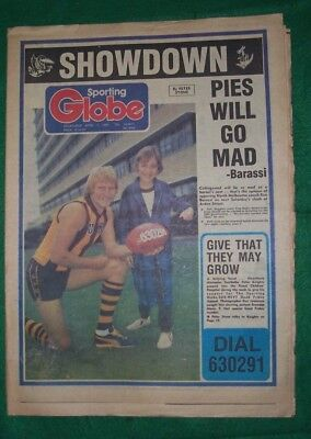 Melbourne Sporting Globe April 1, 1980  complete, VGC, 40 pages