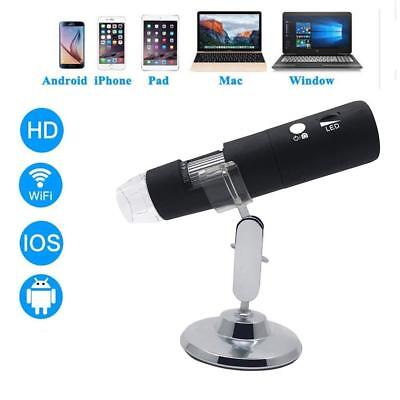Wifi USB Microscope,2MP 1080P HD with 50x to 1000x Magnification Handheld...