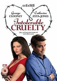 Intolerable Cruelty [DVD] New Sealed   ONLY £2.49 & FREE UK DELIVERY !