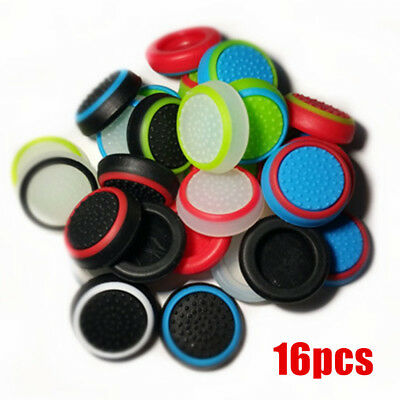 16 PCS Thumb Stick Cover Grip Caps For PS3 PS4 XBOX ONE 360 Controller Gamepad