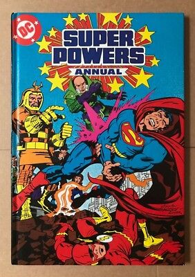 UK Marvel Annual - DC Super Powers 1985 VF/VF+
