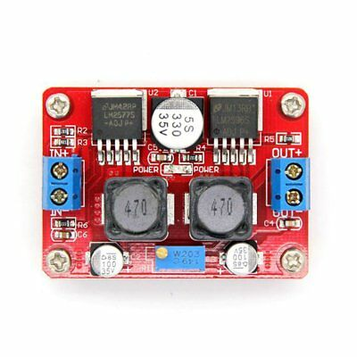 Boost And Buck Voltage Converter LM2577 LM2596 3.5-28V to 1.25-26V Module ID