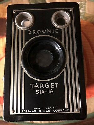Vintage Camera  BROWNIE Target Six-16  Eastman Kodak Company USA