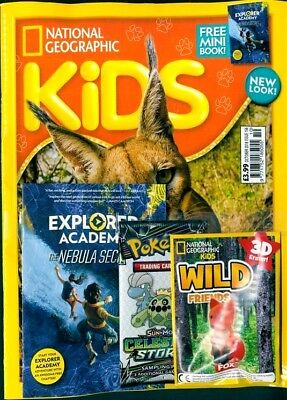 National Geographic Kids Magazine October 2018 ~ New With Gifts ~