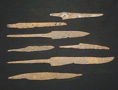 Lot of 7 Iron VIKING Artifacts - Circa 8th - 10th Century AD       /405