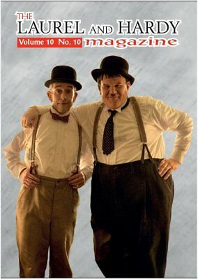 Laurel  and Hardy Magazine STAN & OLLIE MOVIE A4 SIZE :Vol.10 No.10 AUTUMN 2018