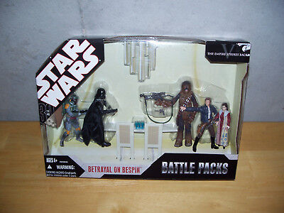 Star Wars The Empire Strikes Back Battle Packs Betrayal On Bespin