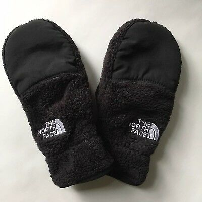 The North Face Girls Fleece Mittens Size Small