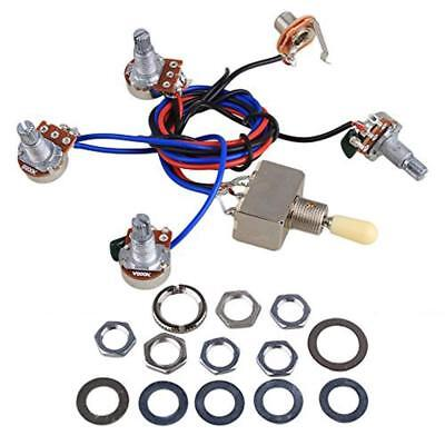 LP Wiring Harness Kit Replacement for Dual Humbucker Gibson Les Pual Style...