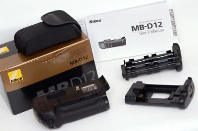 Barely Used, Boxed, PRISTINE Nikon MB-D12 Battery Grip for D810/D800 Camera Body
