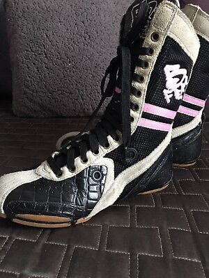 Frontline B Free High Top Hip Hop  Dance Boots Size 5.5