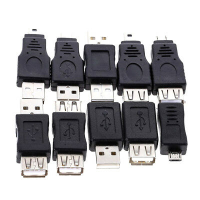 10PCS USB Type OTG Adapter USB C to Micro USB Converter Connector Adapter cable