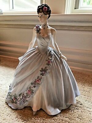 """Coalport, """"The Dream Unfolds"""" GORGEOUS and ELEGANT Lady in EXCELLENT CONDITION"""