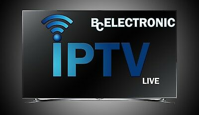 IPTV SUBSCRIPTION FOR 1-3-6-12 months ...+5000CHAINS/MAG BOX/SMARTTV/KODI...