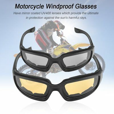Motorcycle Glasses Windproof Dustproof Eye Glasses Goggles Outdoor Glasses A OK